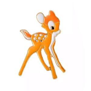 Bambi Deer Enamel Pin Cute Cartoon Animal Brooch